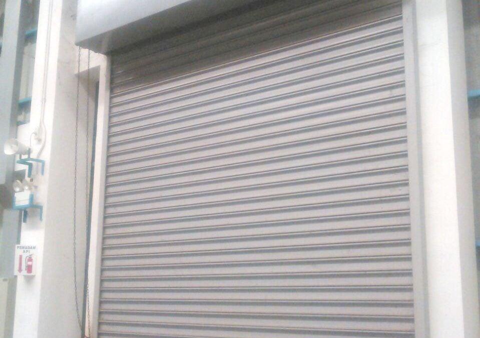rolling door termurah